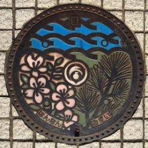 大阪府阪南市のマンホール