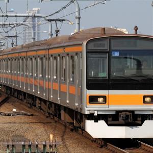 209系 八トタ81編成 快速東京行き