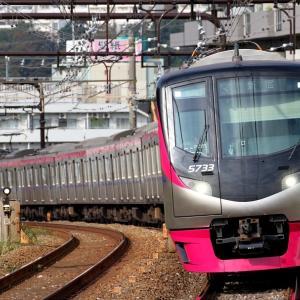 5733F 京王ライナー34号 新宿行き