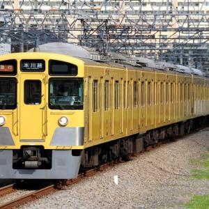 2505F+2027F 急行本川越行き