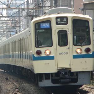 9009F+9008F 区間準急新宿行き