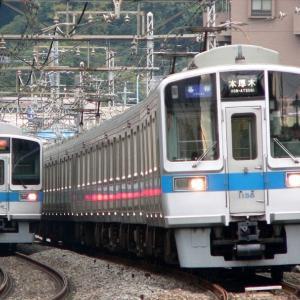 1058F+10**F 各駅停車本厚木行き・2056F 各駅停車新宿行き