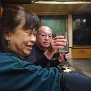 「弟夫婦と忘年会」!!「お好み焼き千栄」!!