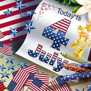 「アメリカ独立記念日」!!「建国「244年」!!