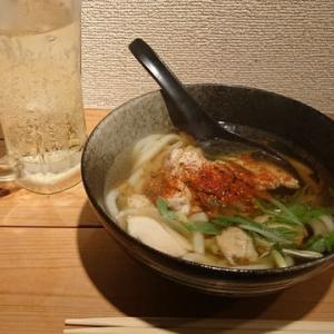 「うどん三昧「しみず」!!「鶏塩うどん」!!