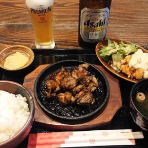 「塚田農場」神戸駅店」!!「地鶏炭火焼き定食」!!