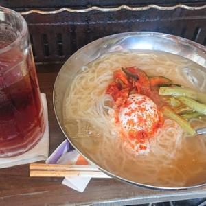「焼肉バル「きんちゃんち」!!「きんちゃん冷麺」!!