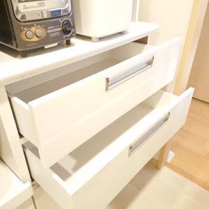 【キッチン】観音扉と引き出し収納メリットデメリット