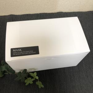 マスクケースのホワイトに♡LOVE HOME♡Mariさんシールが活躍!