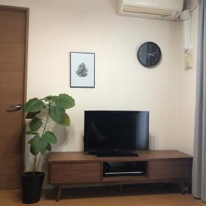 掃除し易いテレビ台!!