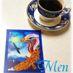 【青い鷲】鷲のように高い目標や理想を掲げ、それに向かって突き進もう【メン】