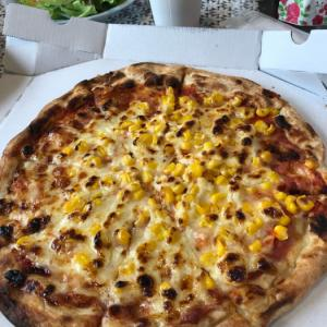 ガストのマヨコーンピザ