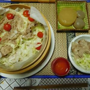 キャベツと豚肉のセイロ蒸し☆岐阜クッキングアンバサダー