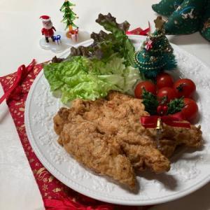 クリスマスに、ささみでケンタッキーフライドチキン風☆