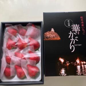 芸術品!?岐阜県産いちご「華かがり」美味しく頂きました☆岐阜クッキングアンバサダー