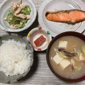 さっぱり鮭定食!!