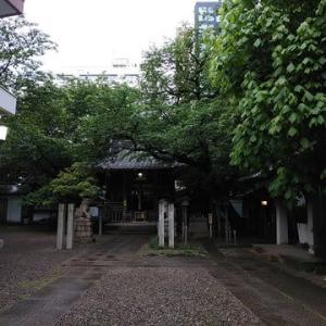 御園神社にて