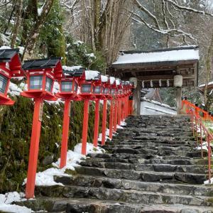 新年は雪の京都で厳かに