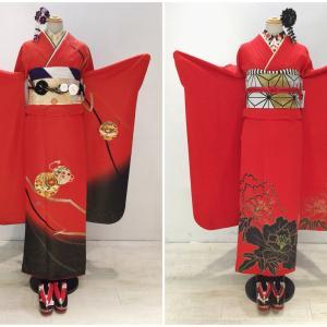 ●とってもお得!!1万円の真っ赤な振袖!!●