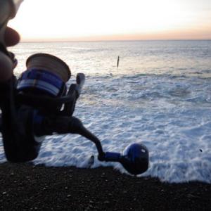 熊野灘 サーフジギング 七里御浜 ・ 南伊勢 エギング アオリイカ
