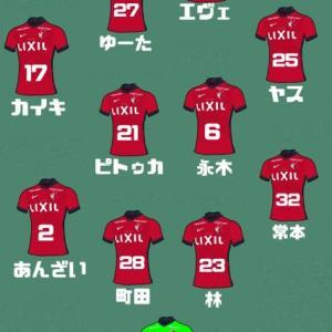 第101回天皇杯 ラウンド16 vs V・ファーレン長崎 in トランスコスモススタジアム長崎