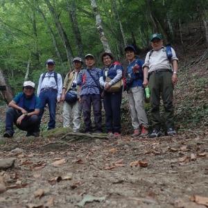 西沢渓谷行き