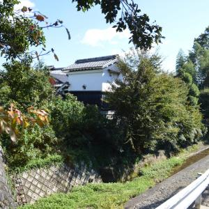 蔵のある風景左0383回 岩倉 実相院 付近