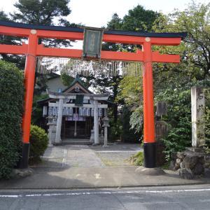 神社北0189 石井神社  御土居の跡に建つ