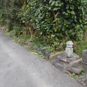 まち歩き左1092 岩倉 道端の石仏