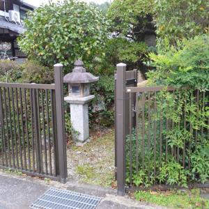 愛宕灯籠左078 岩倉 村松緑地公園