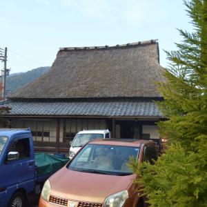 まち歩き左1104 茅葺の家 築200年