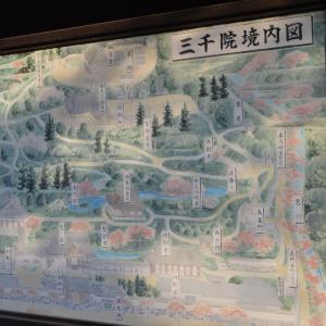 寺院左0679  三千院門前 駒札・境内図・歌碑