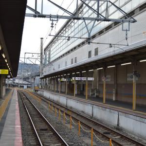 まち歩き下1108 京都駅 奈良線9番ホーム