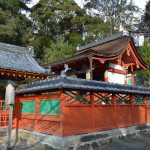 神社城陽0205 久世神社 本殿・重要文化財  久世廃寺跡