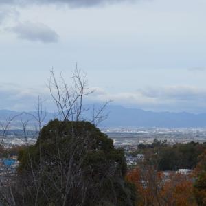 まち歩き城陽1113 鴻の巣山 山頂からの眺め