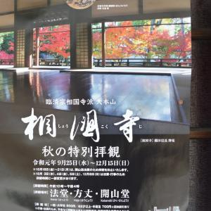 まち歩き下1236 京の通り 麩屋町通 NO15  ポスター 相国寺・鳴き龍