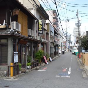 まち歩き下1241 京の通り 麩屋町通 NO20     古美術商に中古レコード店