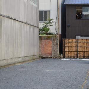 まち歩き中1249 京の通り 麩屋町通 NO25  空き地