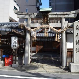 まち歩き中1280 京の通り 麩屋町通 NO41  白山神社 神社中0230