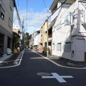 まち歩き中1298 京の通り 麩屋町通 NO52  竹屋町通