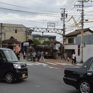 まち歩き右1302 嵐電 太秦広隆寺 駅