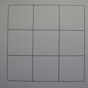 パズル問題037 魔方陣  3×3