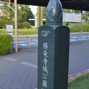 道標長岡京0307  筍型の道標 勝龍寺城公園へ