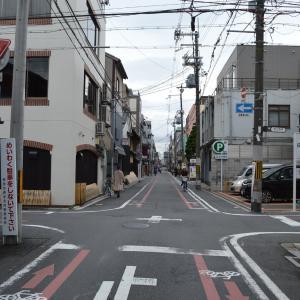 まち歩き中1367 京の通り・富小路通 NO34 姉小路通