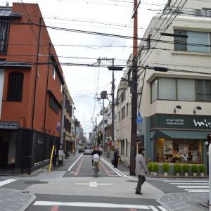 まち歩き中1373 京の通り・富小路通 NO39 三条通