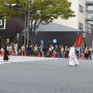 時代祭行列  江戸時代婦人列  中村内蔵助の妻