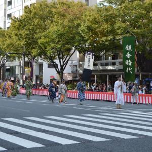 時代祭行列 鎌倉時代  流鏑馬
