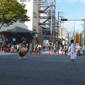 時代祭行列 平安時代婦人列 横笛