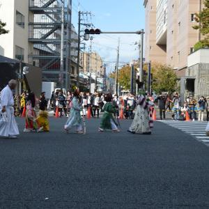 時代祭行列 平安時代婦人列  和気廣虫