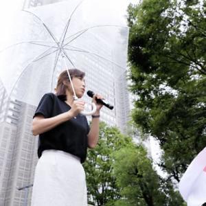 幸福実現党香港支援デモと、中国人による醜い妨害。